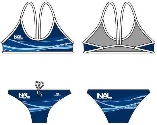 Costume da nuoto NAL by TURBO, modello bikini