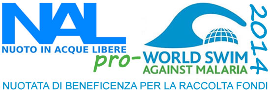 NAL pro World Swim Against Malaria 2014, Nuotata di Beneficenza per la Raccolta Fondi